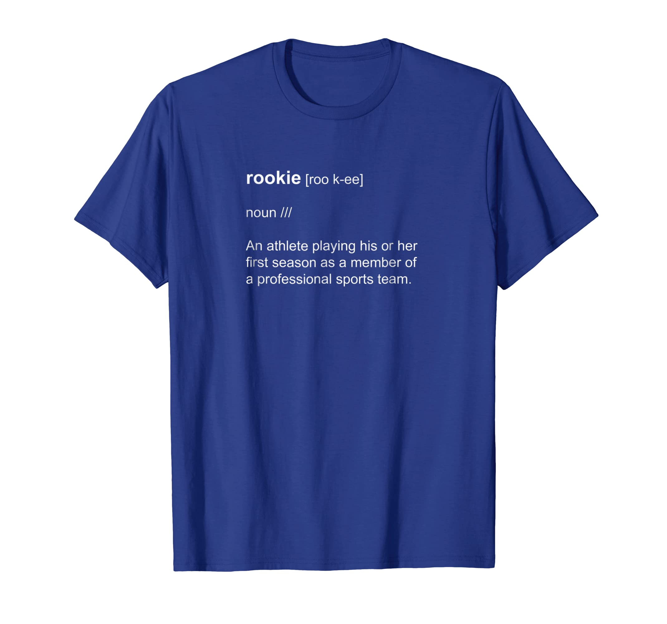 Rookie Definition Dictionary Short-Sleeve T-Shirt-prm