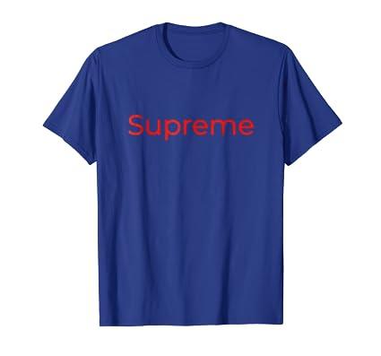 db704a0e363e Amazon.com: Supreme T Shirt: Clothing