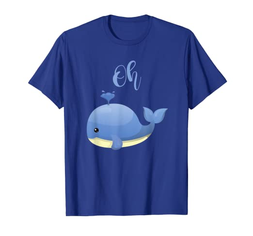 Amazon com: Cute Sea Creature Oh Well Whale Funny Clever Puns Shirt