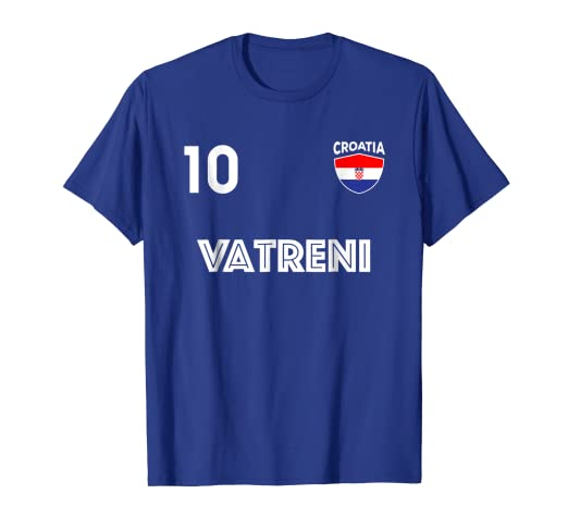 Image Unavailable. Image not available for. Color  Croatia Player Number 10  Shirt 2018 Team Jersey Football b93a4ee57