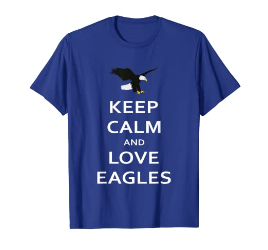 c27a05e60 Image Unavailable. Image not available for. Color  Keep Calm and Love  Eagles T-Shirt