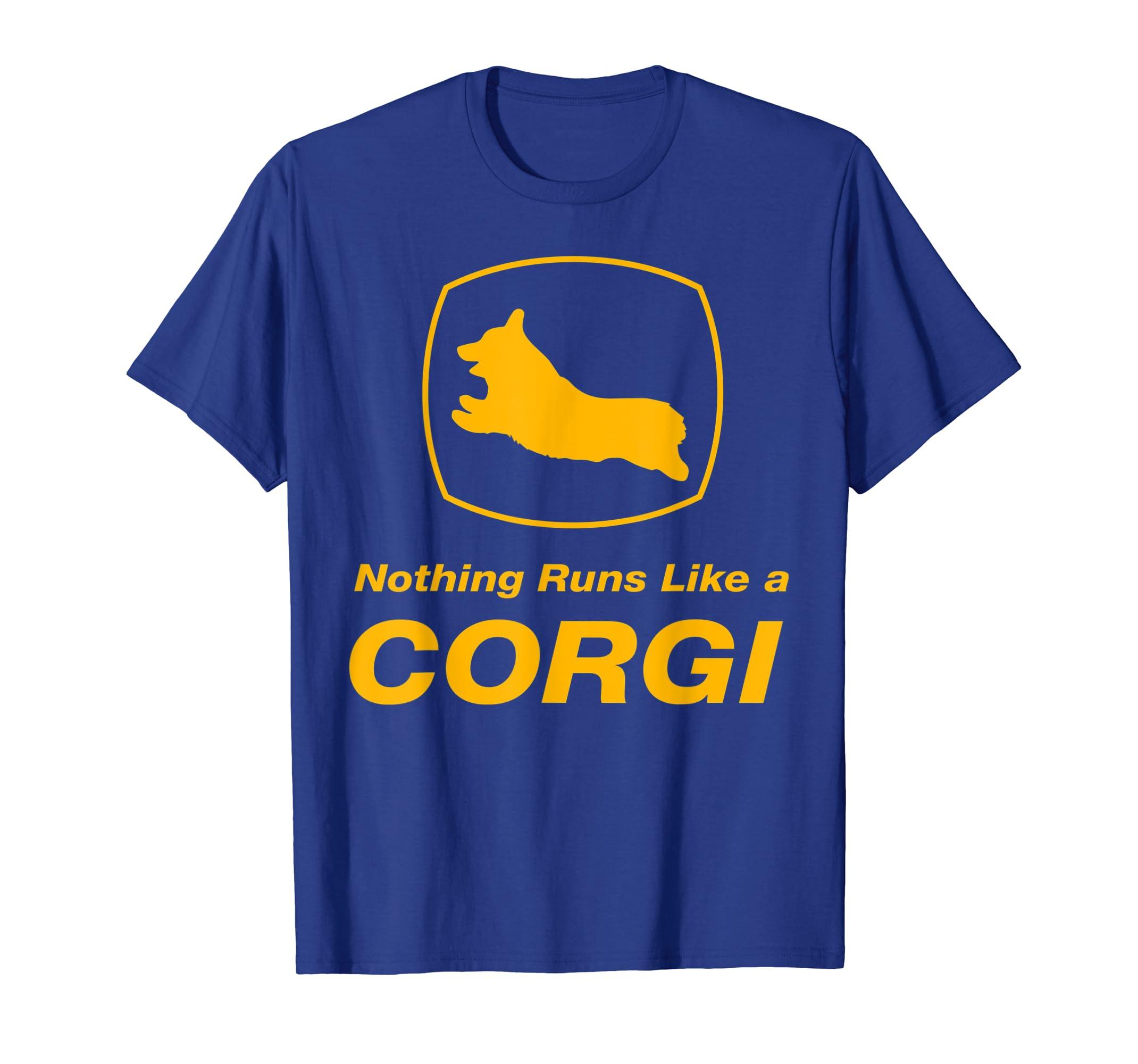 7ad4012d4 Amazon.com: Funny Corgi T-Shirt -