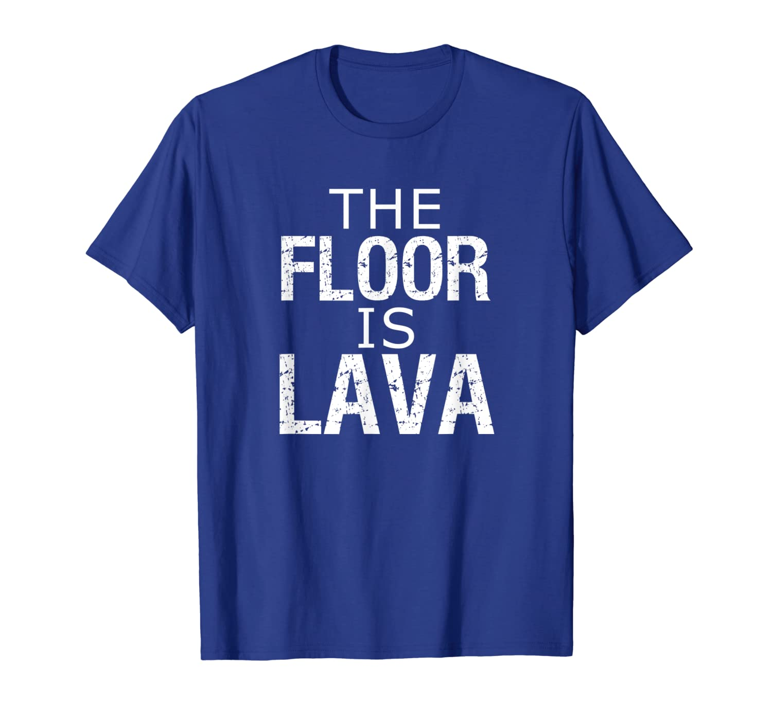 Funny Rock Climbing Climber Bouldering The Floor Is Lava  T-Shirt