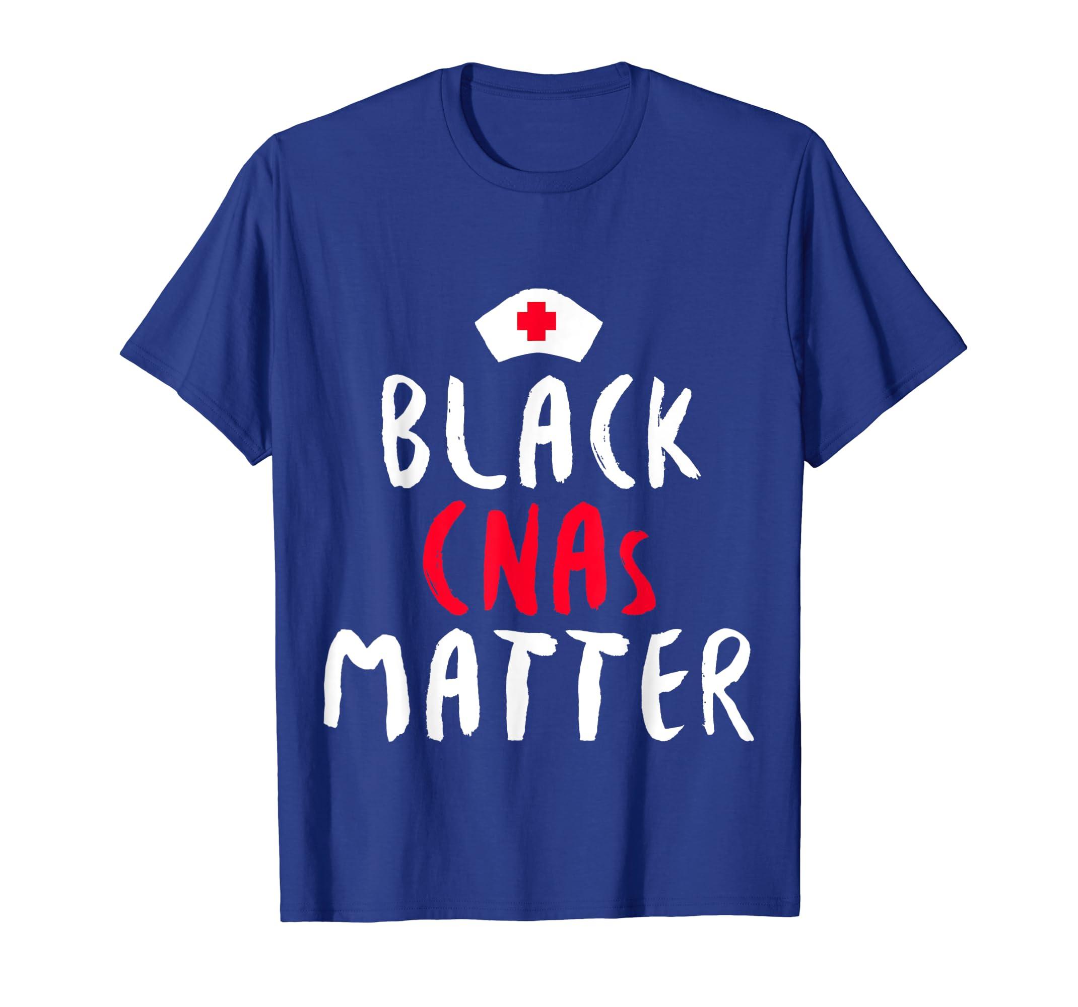 Black History Month CNA Nurse African American Pride T Shirt-SFL