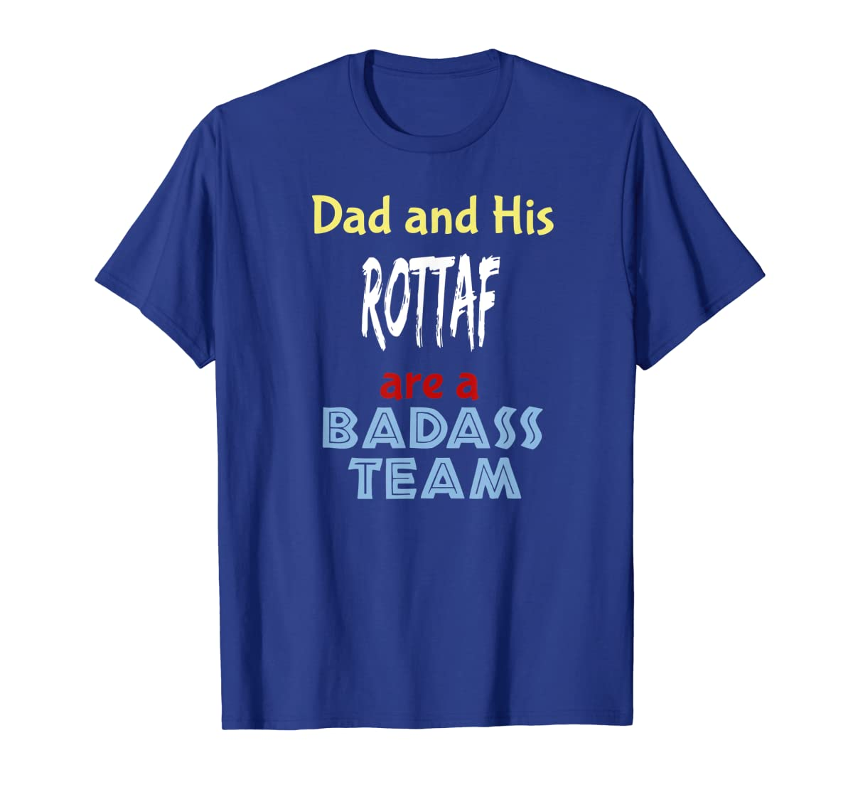 Mens Rottaf Dog Shirt Love Rottweiler + Afghan Hound = T-Shirt-Men's T-Shirt-Royal