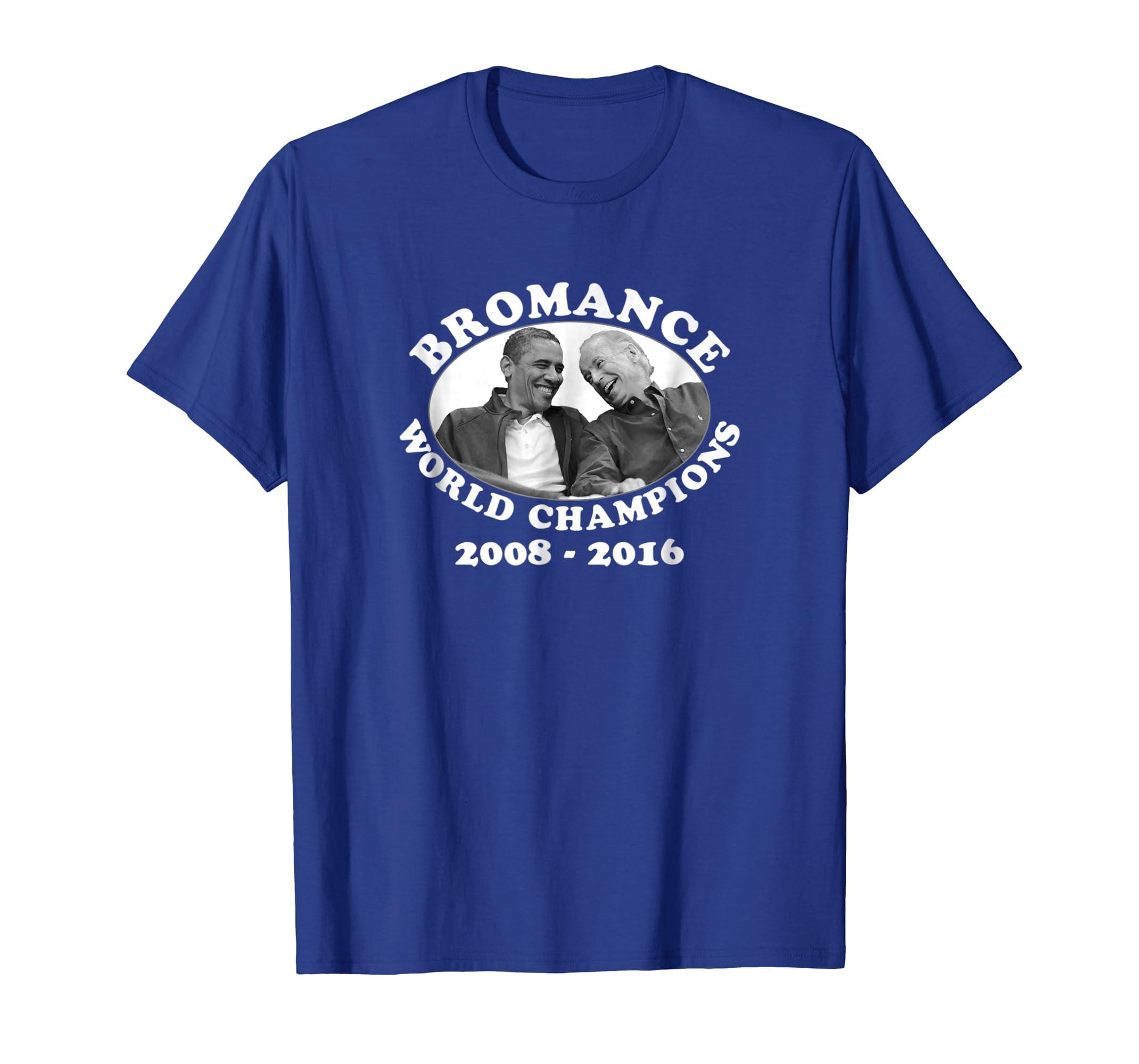 Bromance World Champions Tee   Obama and Biden-Awarplus