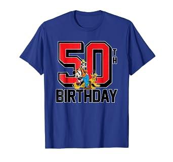 Amazon Disney Birthday Group 50th T Shirt Clothing
