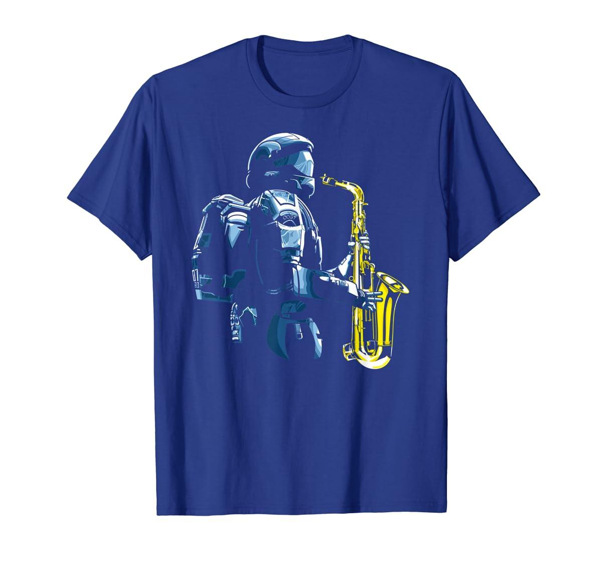 Halo ODST Jazz T-Shirt-Men's T-Shirt-Royal