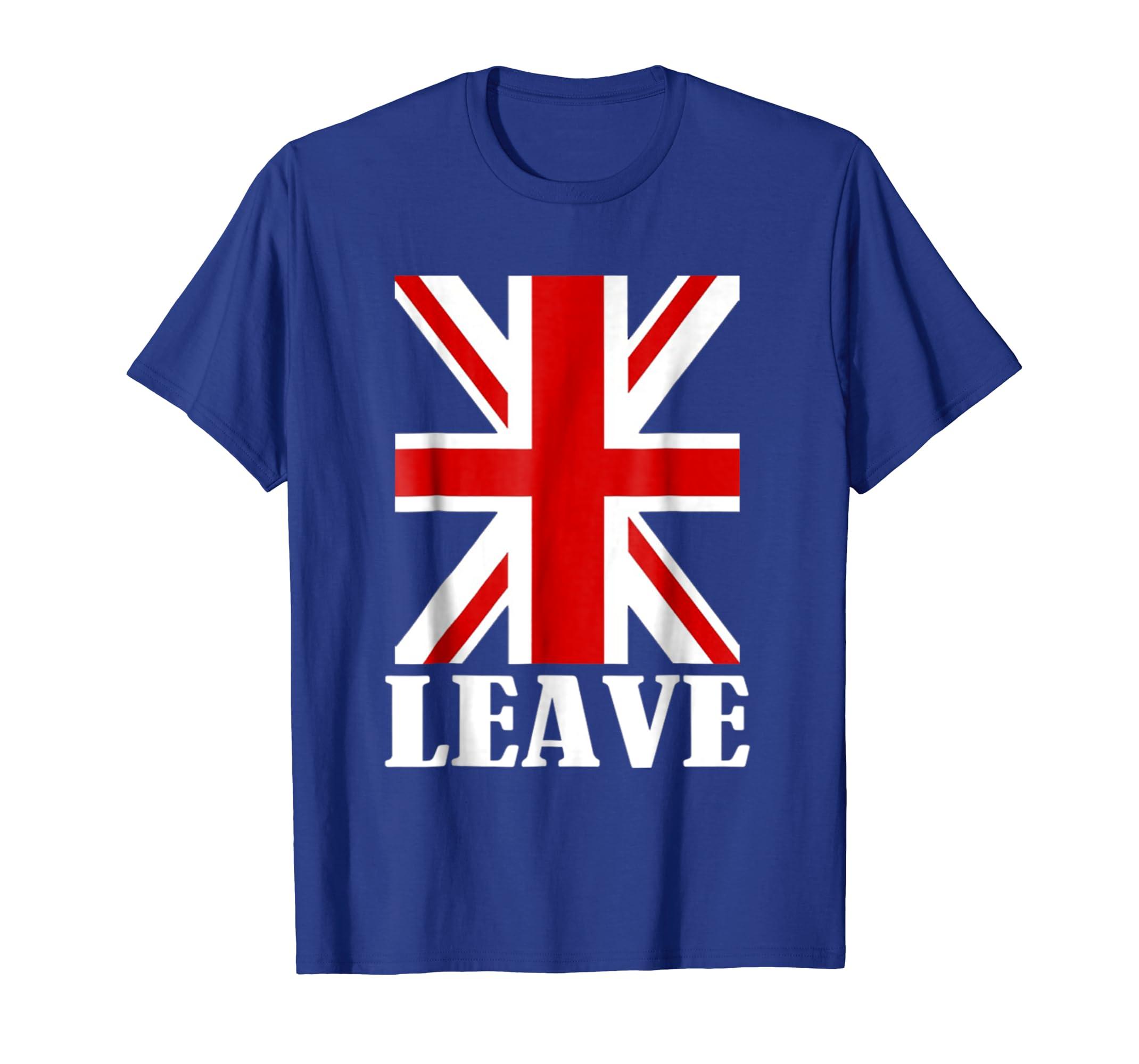 a05b349de Amazon.com: Pro Brexit T-Shirt Anti EU - UK Referendum Vote LEAVE: Clothing