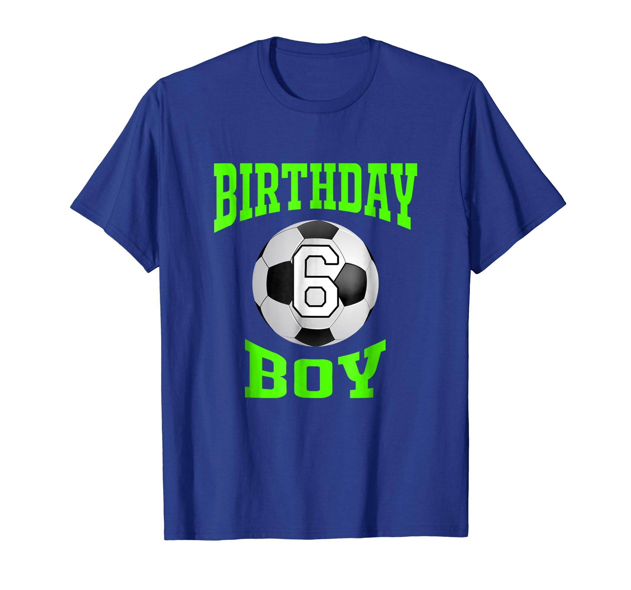 Amazon 6th Birthday Boy Shirt