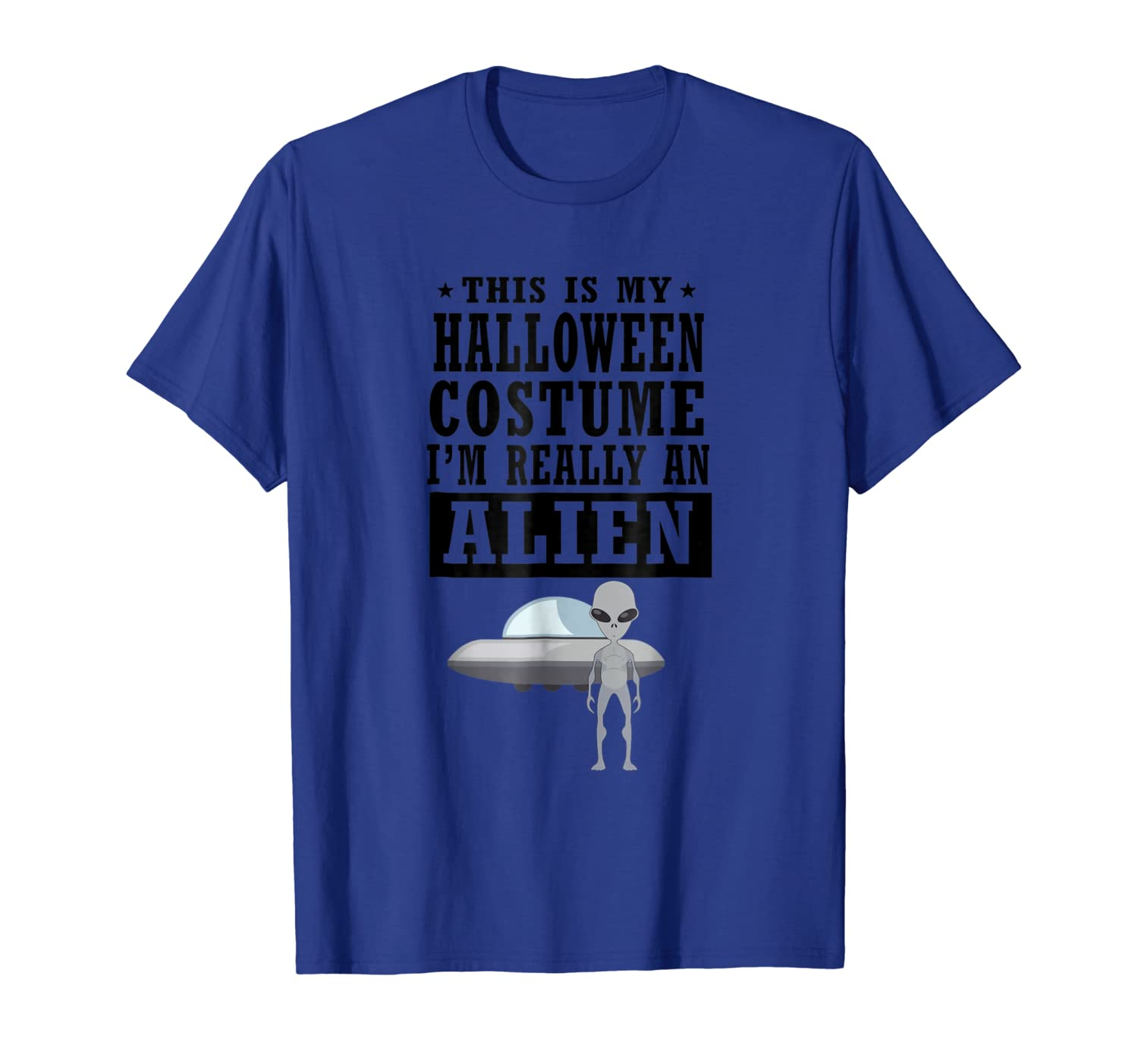 Space Alien Halloween Costume T-shirt - This Is My Costume