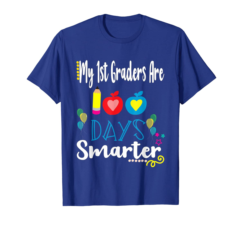 Amazon.com: 100th Day Of School Tshirts 1st Grade Teacher ...