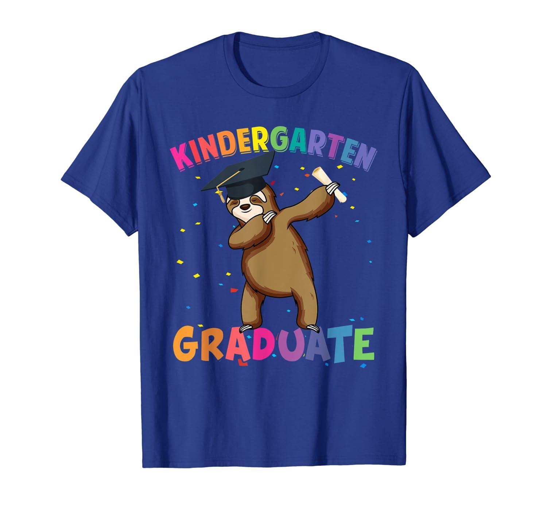 Dabbing Sloth Kindergarten Graduation Shirt Kids Boys Girls-ANZ