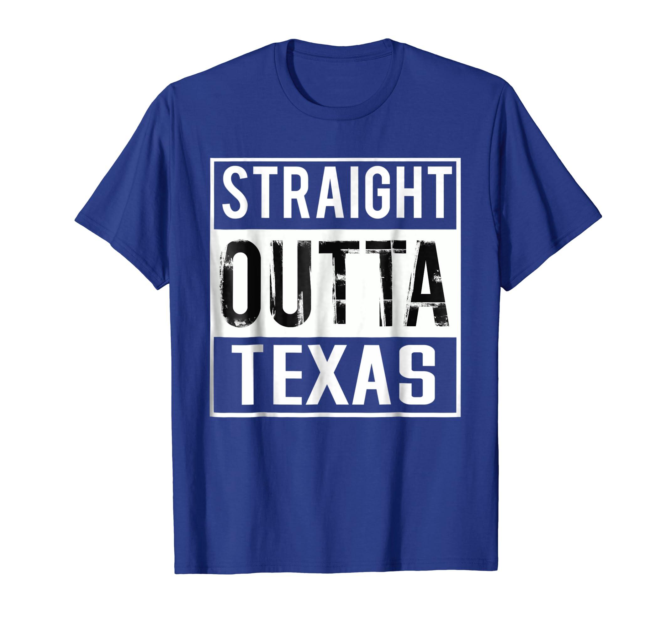 df1e47ca561 Straight Outta Texas Shirt Texas T-Shirt-mt - Mugartshop