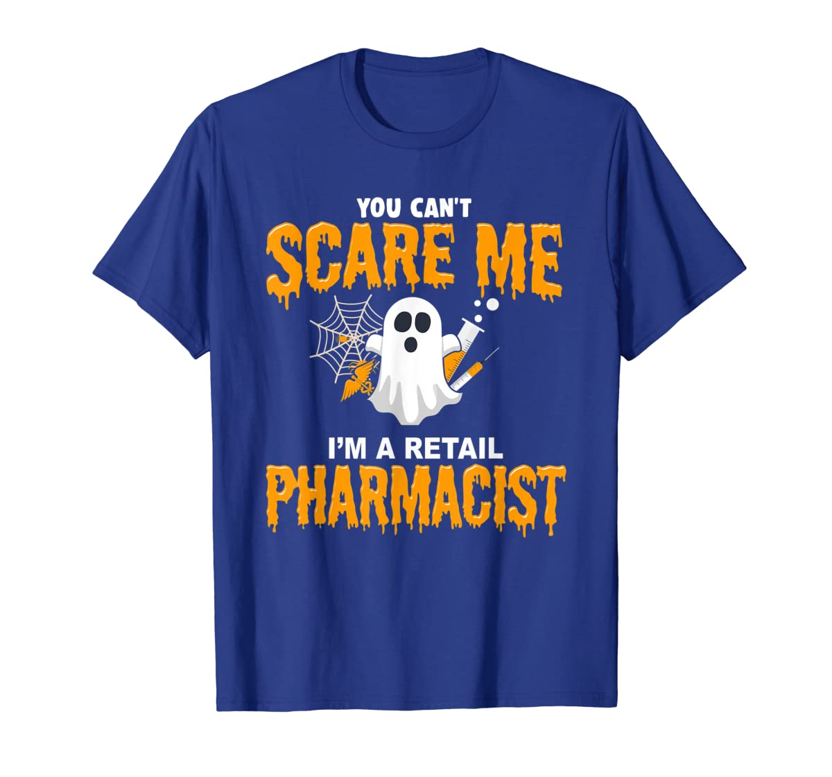 Halloween Costume Shirt I'm A Retail Pharmacist T-Shirt-Men's T-Shirt-Royal