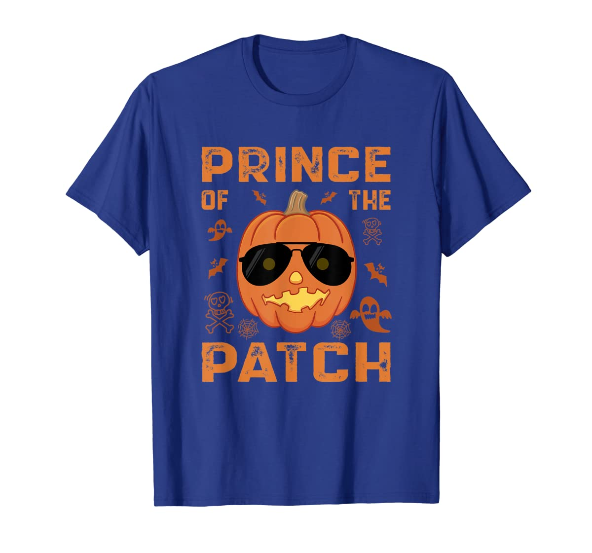 Pumpkin Prince of the Patch Group Family Halloween Costume T-Shirt-Men's T-Shirt-Royal