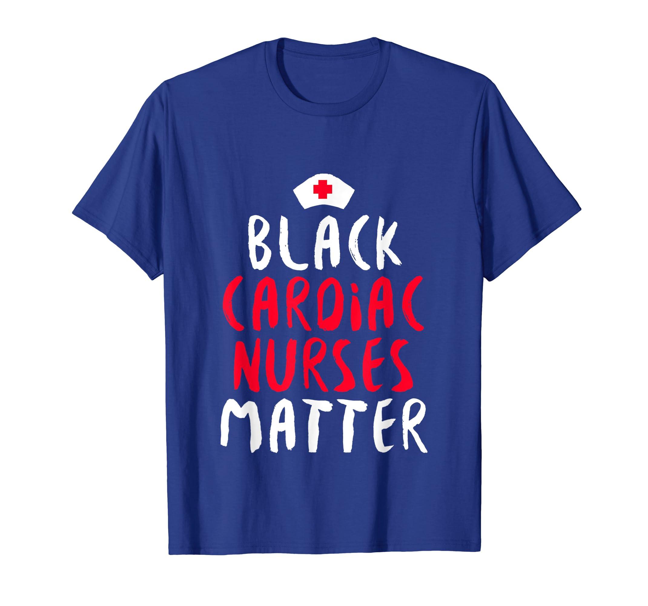 Black History Cardiac Nurse African American Pride TShirt-SFL