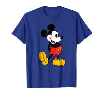 Amazon.com  Disney Classic Mickey Mouse T-Shirt  Clothing bc8053fccc