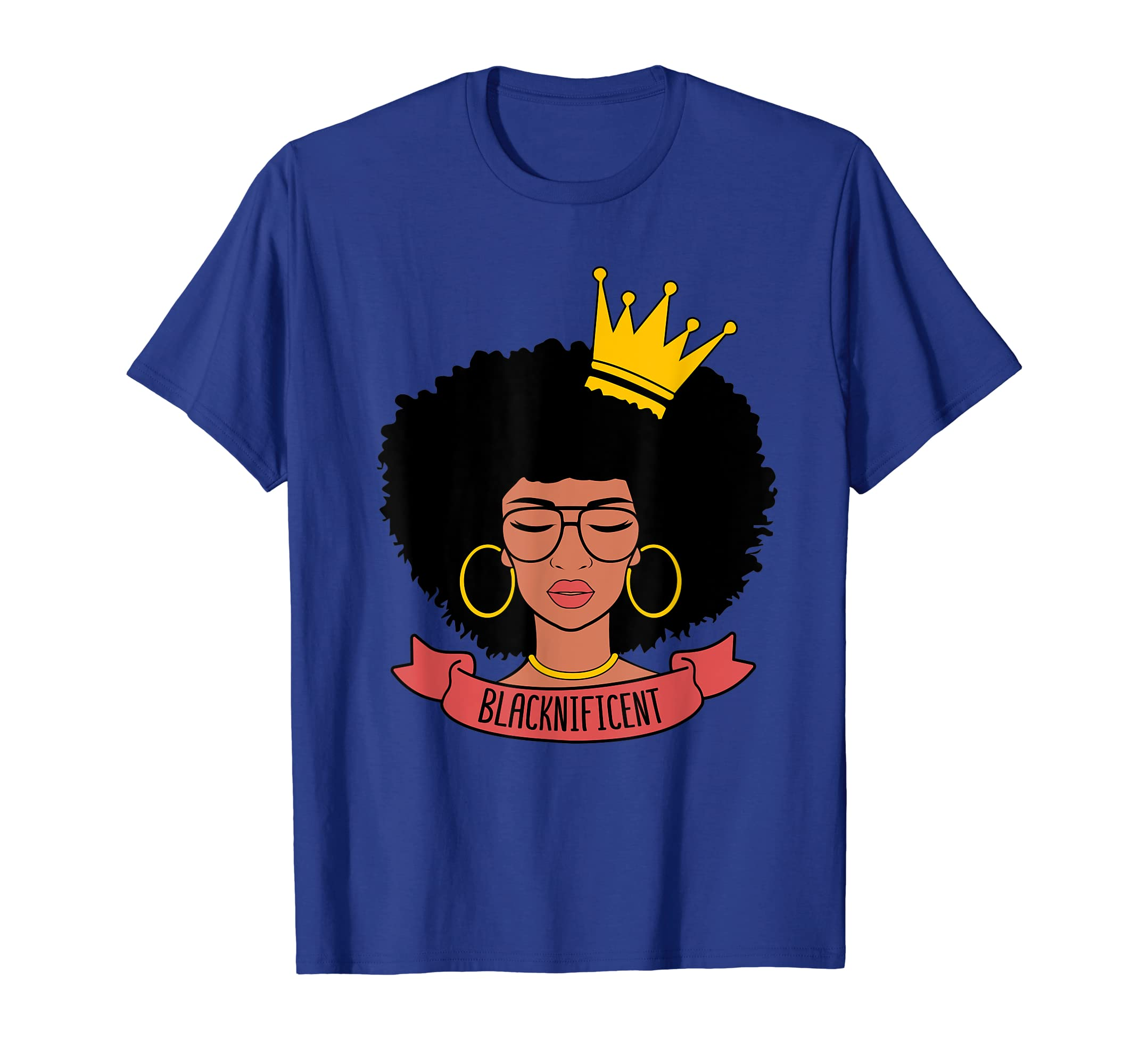 Blacknificient Afro Women Shirt Black History Month Gift-SFL