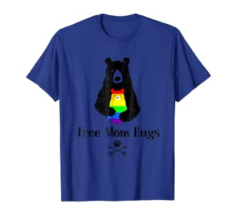 4137f965 Image Unavailable. Image not available for. Color: Free Mom Hugs Bear Shirt  ...