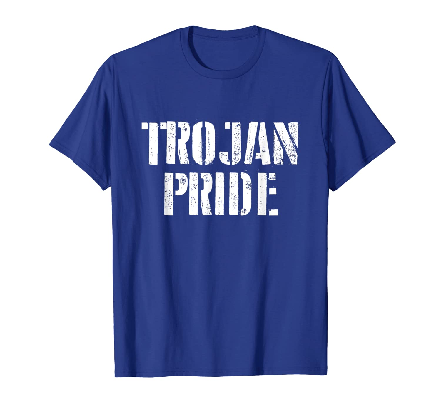 57dee105 Amazon.com: Trojan Pride T Shirt for any Sports Fan School Spirit Shirt:  Clothing