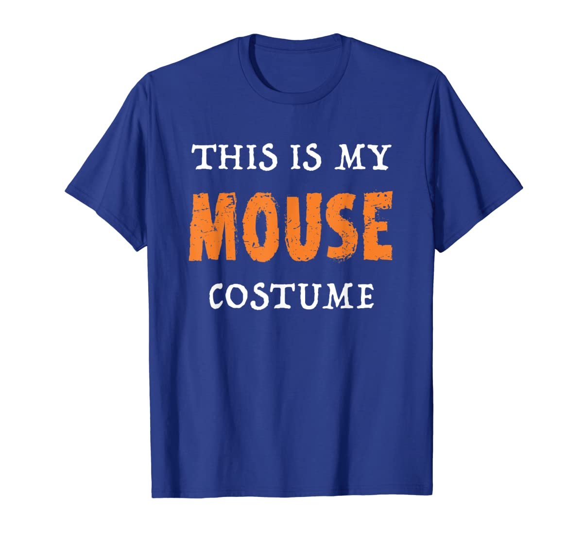 Funny This Is My Mouse Costume Halloween  T-Shirt-Men's T-Shirt-Royal
