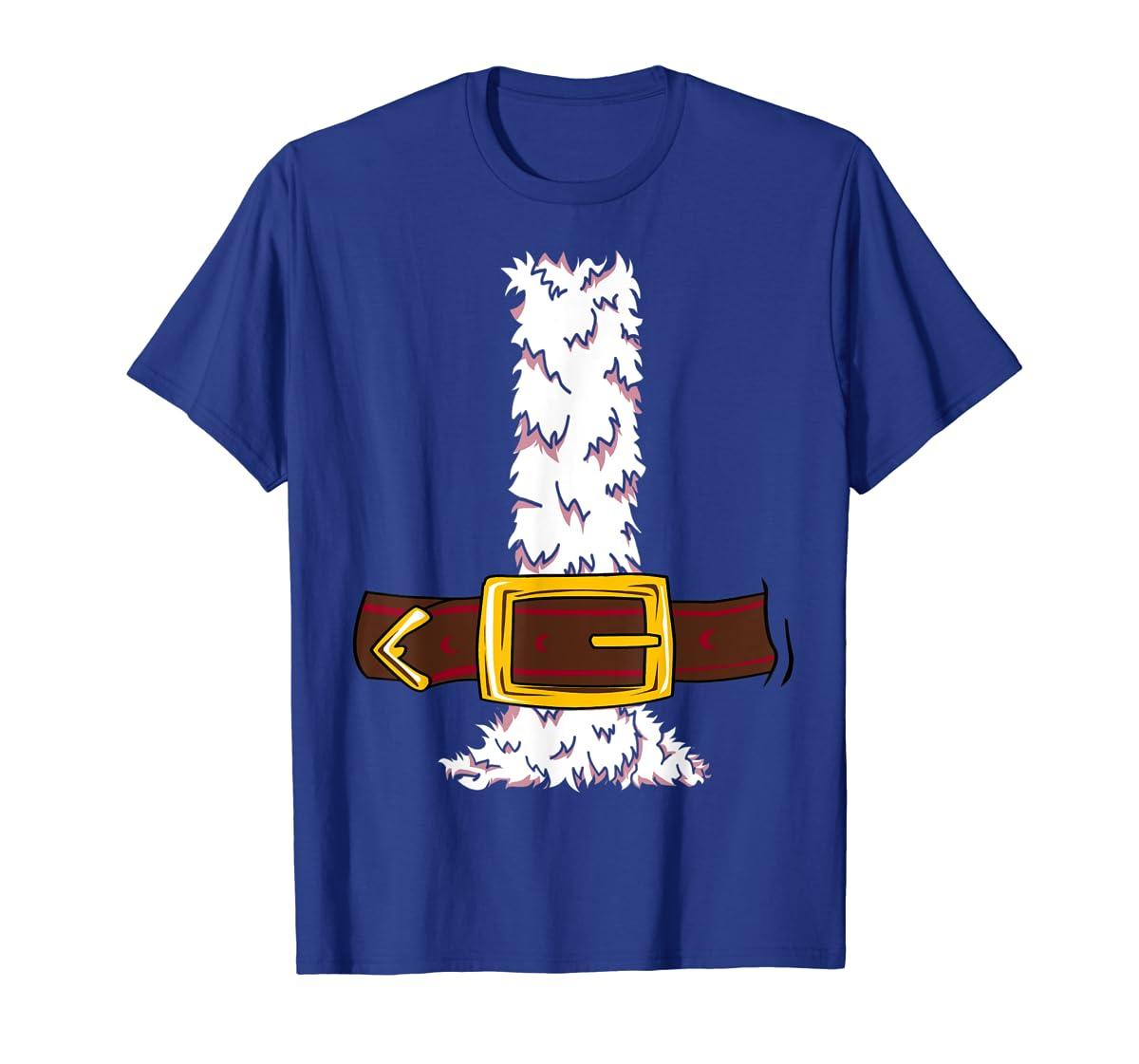 Funny Christmas gift for boys girls men women Santa costume T-Shirt-Men's T-Shirt-Royal