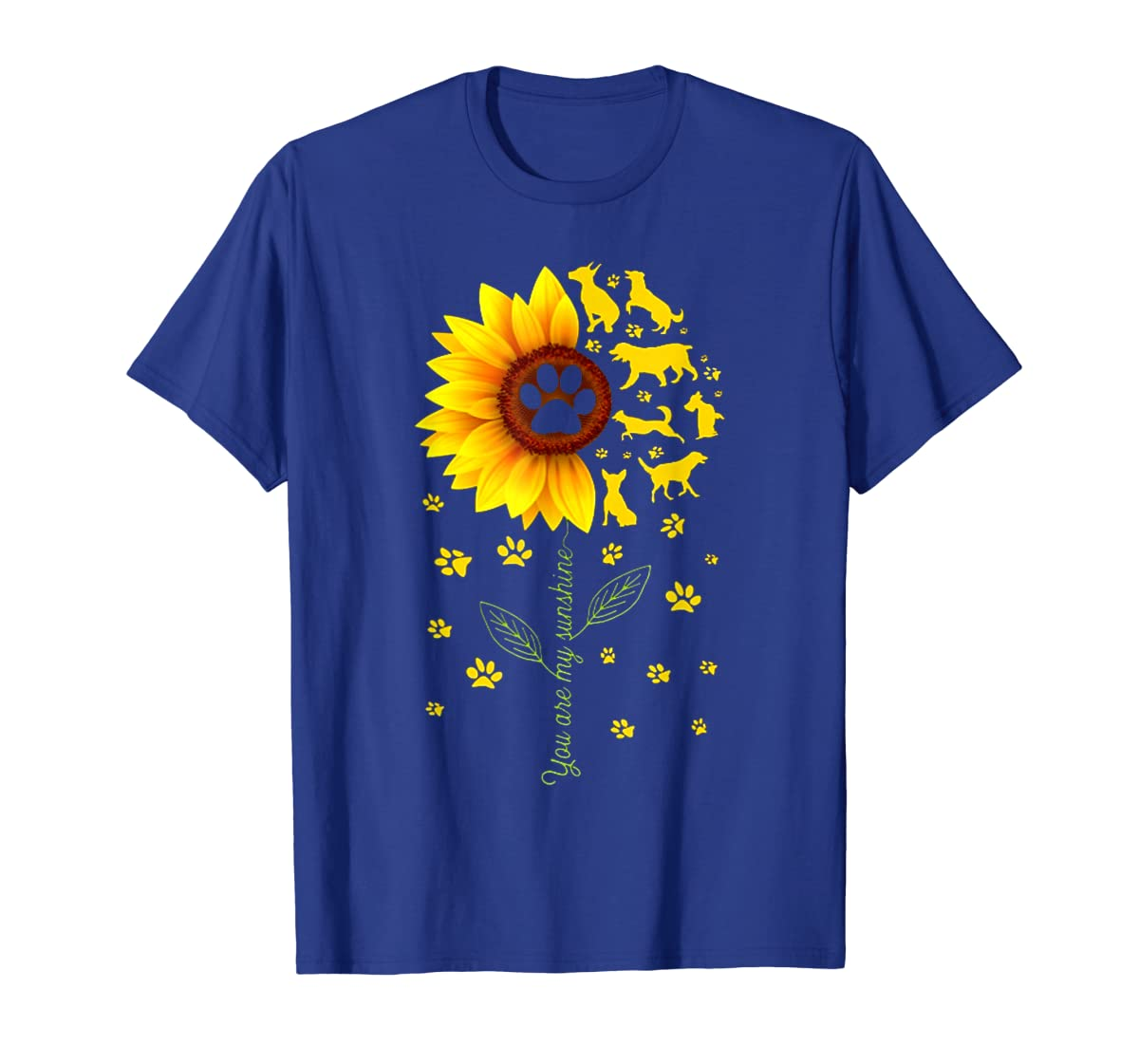 You are my Sunshine t-shirt-Men's T-Shirt-Royal