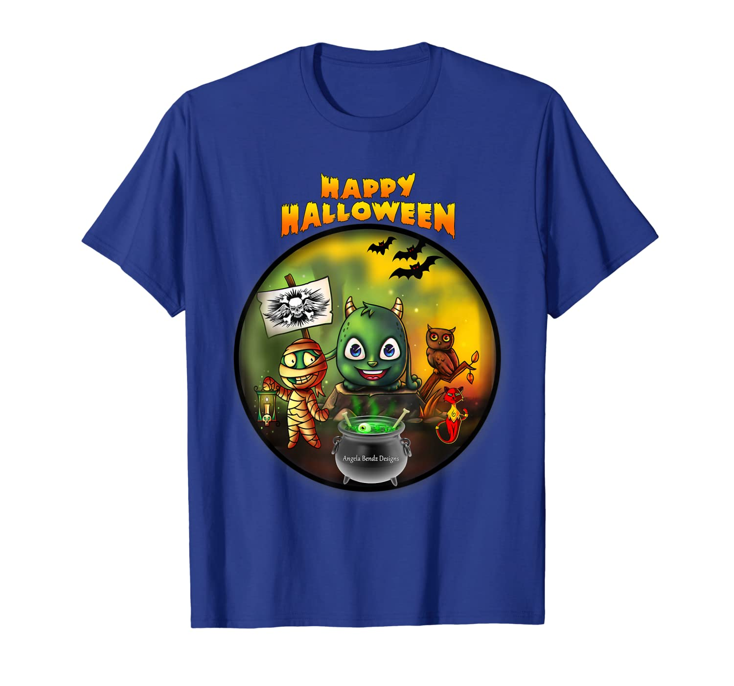 3a8f0e65 Amazon.com: Halloween T-Shirts - Scary & Funny Halloween Costume T-Shirt:  Clothing
