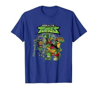 d27ff4f0 Image Unavailable. Image not available for. Color: Rise of The Teenage  Mutant Ninja Turtles Classic T-Shirt