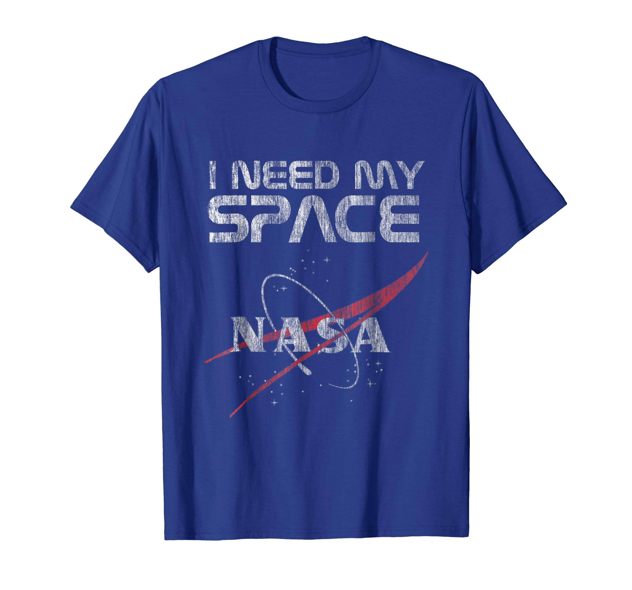 Retro I Need My Space Nasa Logo T Shirt Tee Shirt Tshirt.-Teesml