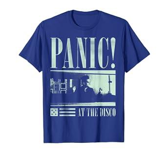 2c84a1d1 Amazon.com: Mens Panic! At The Disco - Photo Tee: Clothing