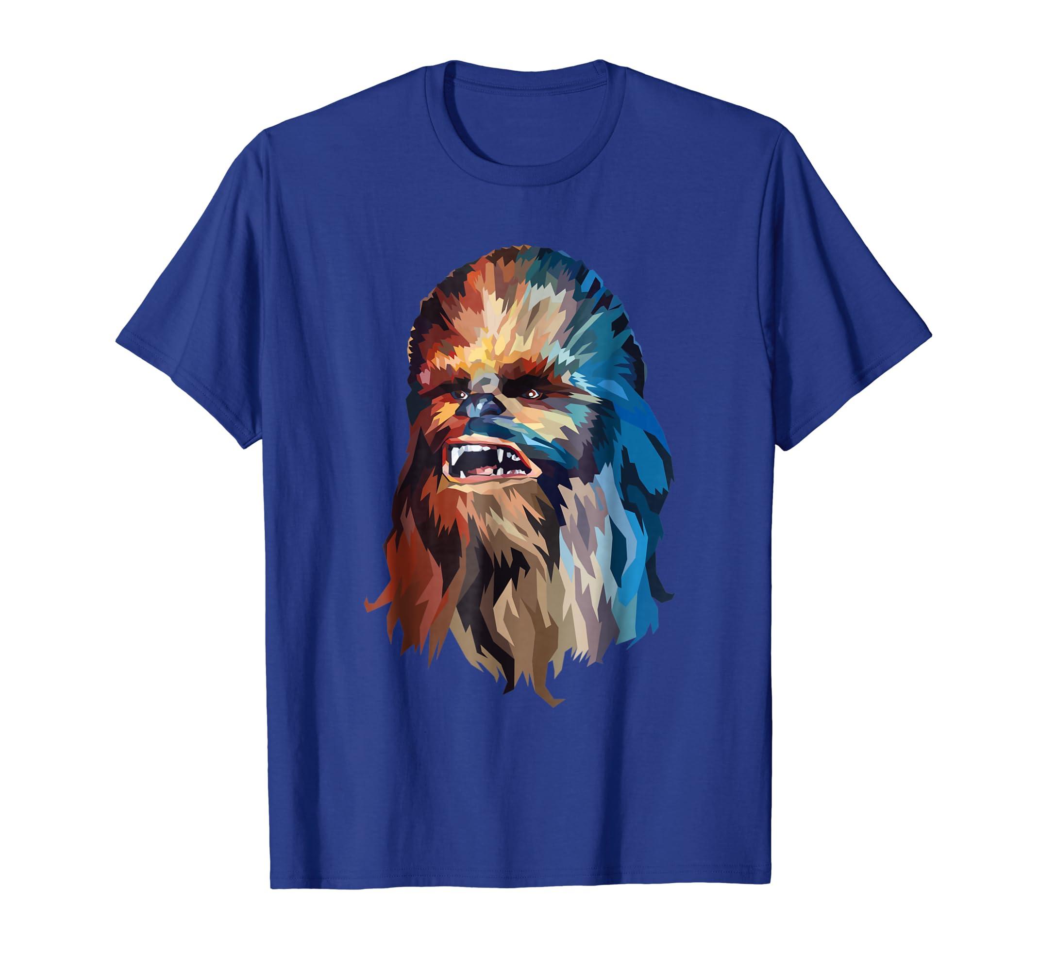 1783283e Amazon.com: Star Wars Chewbacca Art Graphic T-Shirt: Clothing