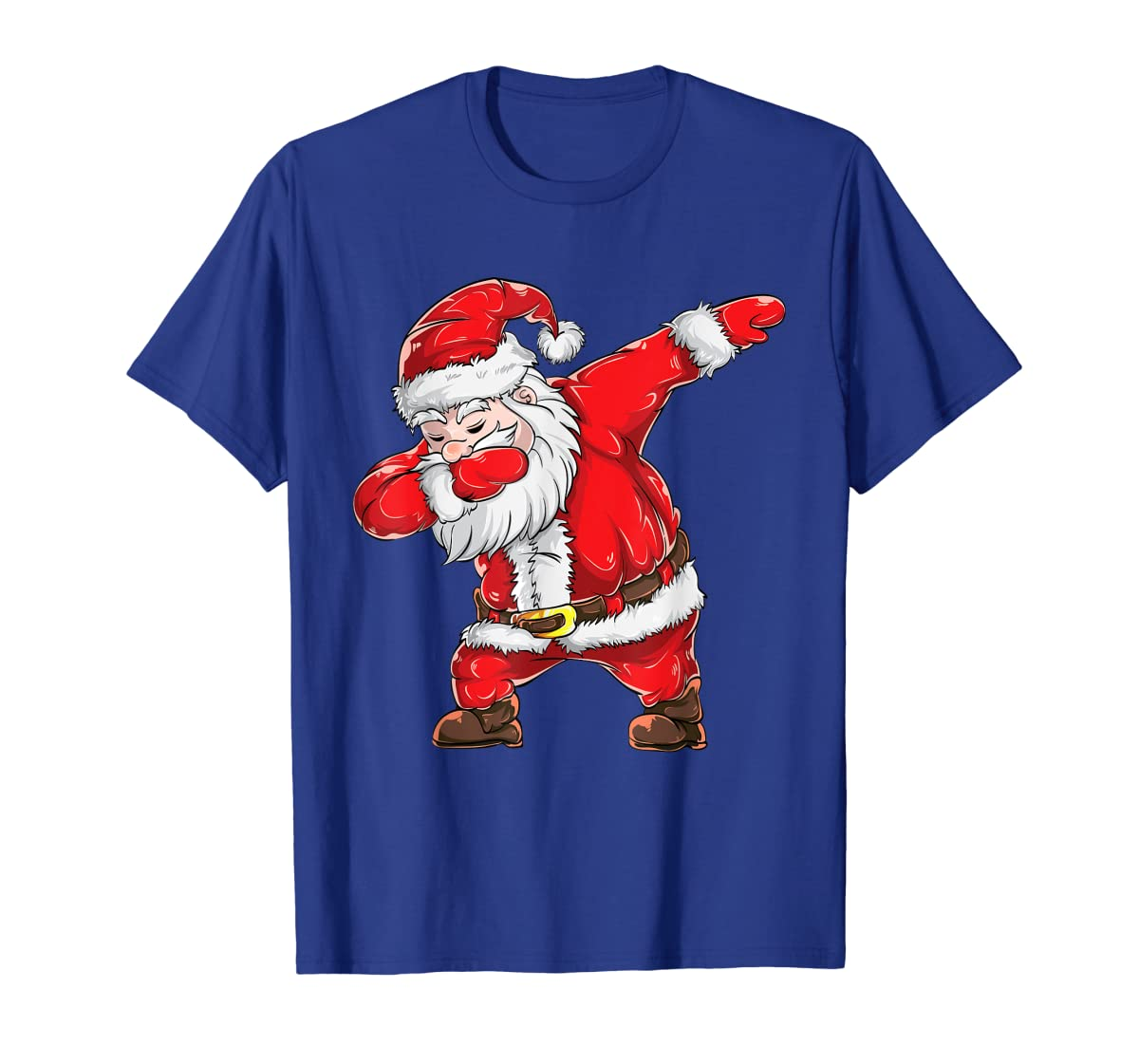 Dabbing Santa Claus Christmas Kids Boys Girls Dab Xmas Dance T-Shirt-Men's T-Shirt-Royal