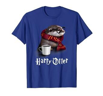 4e68f711d Amazon.com: Funny Otter T-shirt - Harry Otter Shirt for Otter lover ...