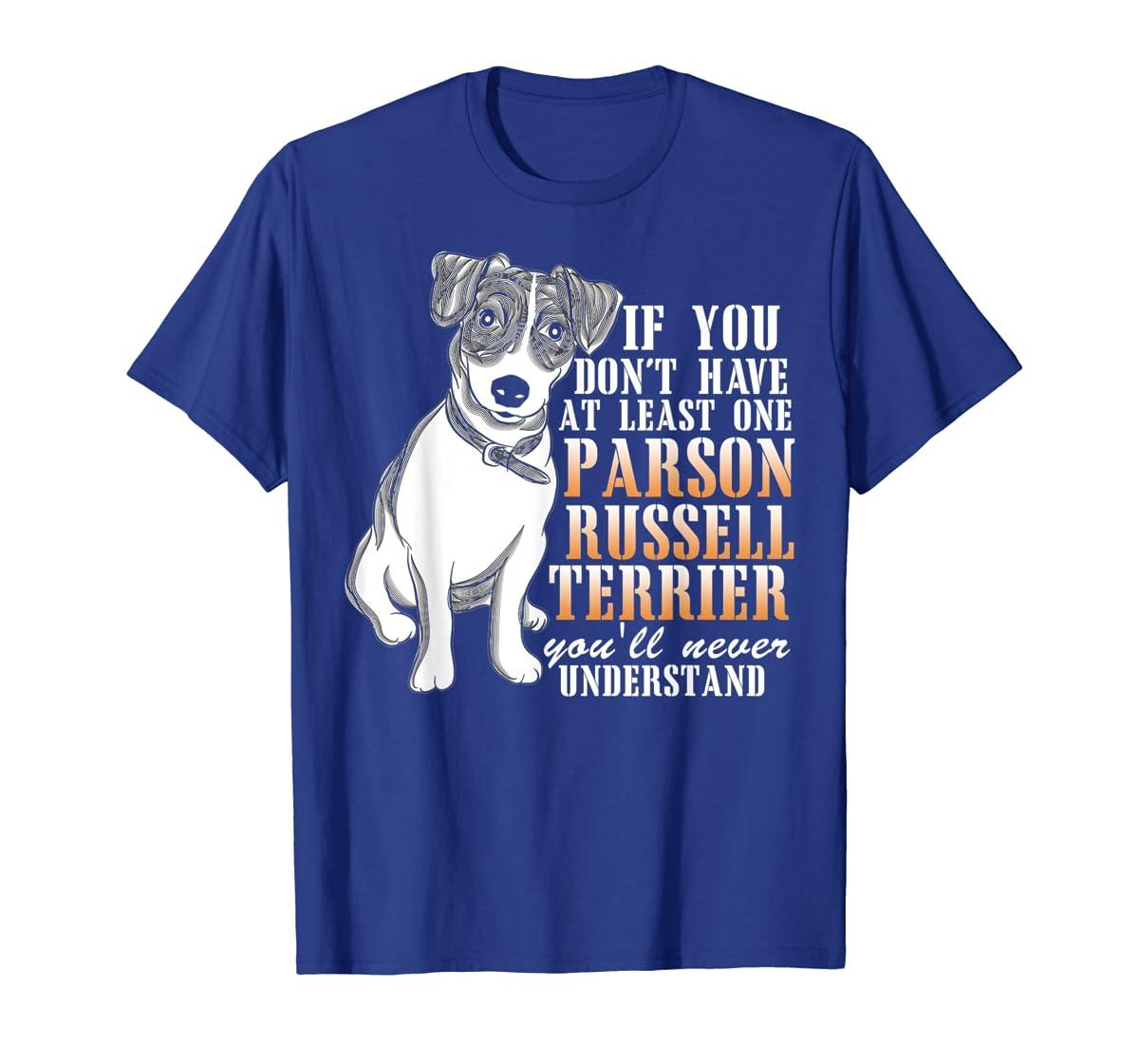 Parson Russell Terrier T Shirt, I Love My Dog T Shirt-Men's T-Shirt-Royal