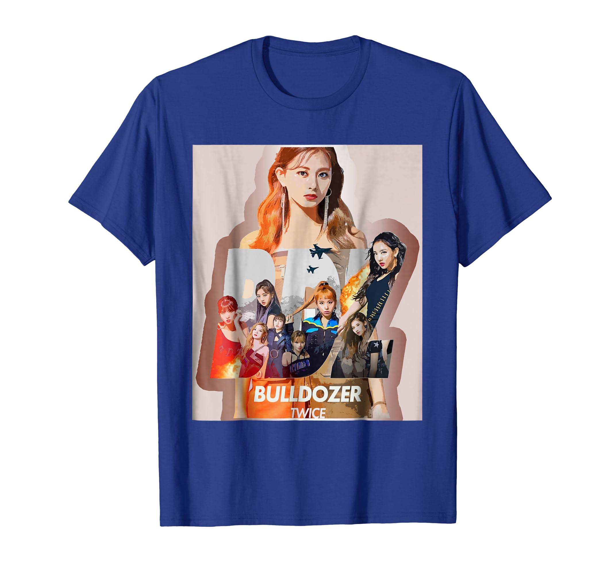 K Pop Twice ONCE Bulldozer BDZ Tzuyu Mina Jihyo Sana Momo-Bawle