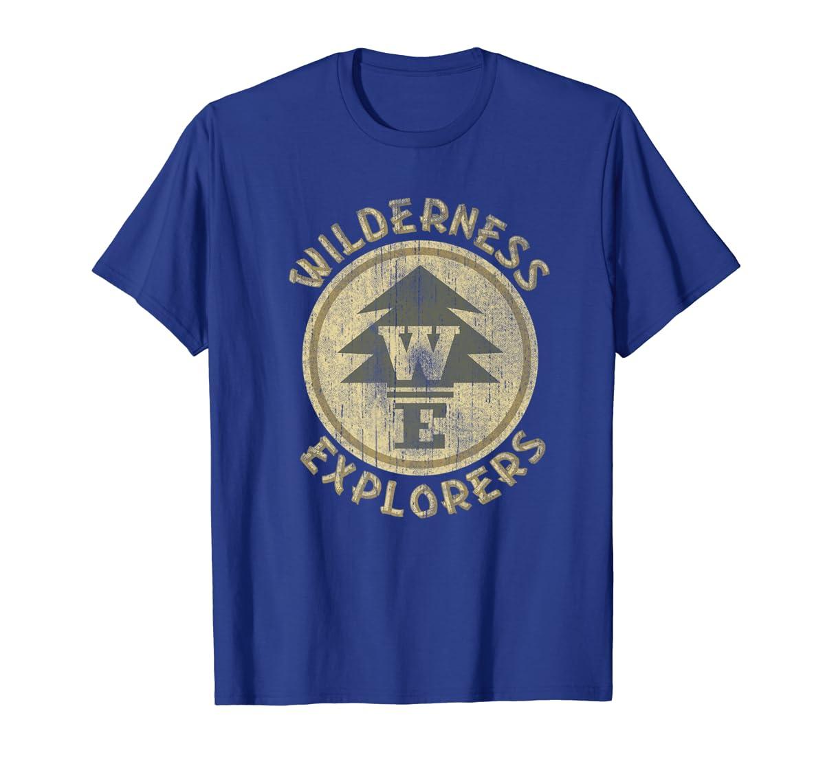 Disney Pixar Up Wilderness Explorer Badge Premium T-Shirt-Men's T-Shirt-Royal