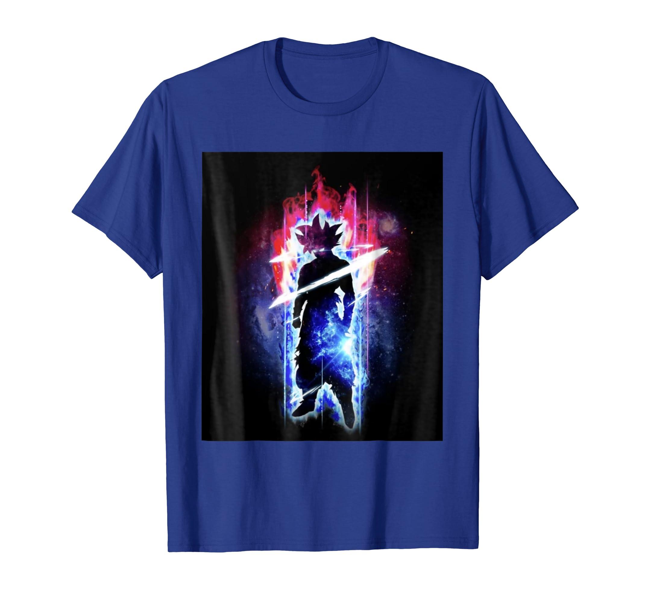 cf9917dc2f1 Amazon.com: Ultra Instinct Cosmic Aura (I will be back...): Clothing