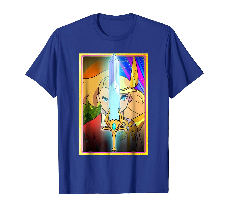 8c5d8957 Amazon.com: DreamWorks She-Ra Adora Character Split T-Shirt: Clothing