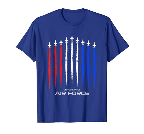Air Force US Veterans 4th of July T shirt – American Flag