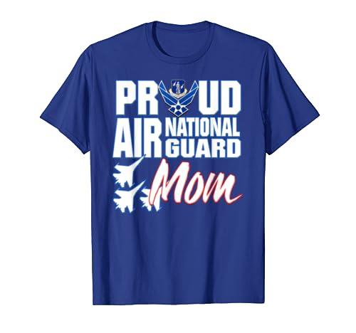 Air National Guard Mom Shirt USA Air Force Military