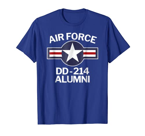 Air Force DD-214 Alumni DD214 T-Shirt