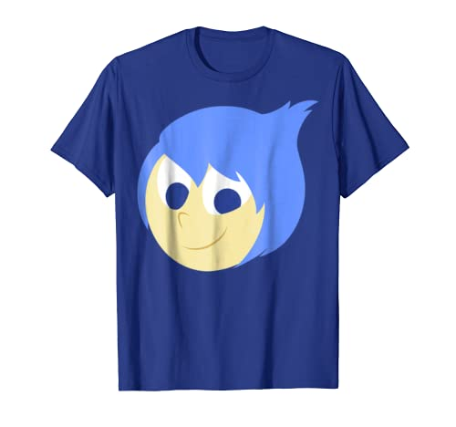 Disney Pixar Inside Out Joy Face Halloween Graphic T-Shirt