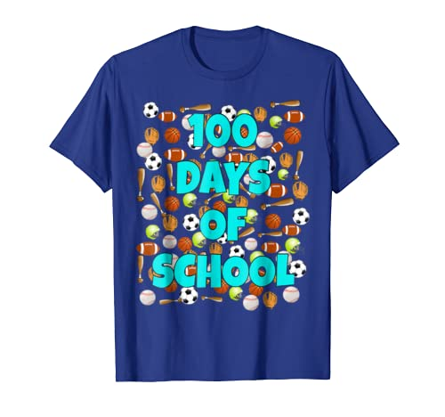 441dd6fbeb5835 Amazon.com  100 Days of School T Shirt for kids or teachers - Sports   Clothing