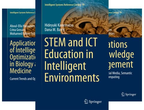 Intelligent Systems Reference Library (51-100) (50 Book Series)