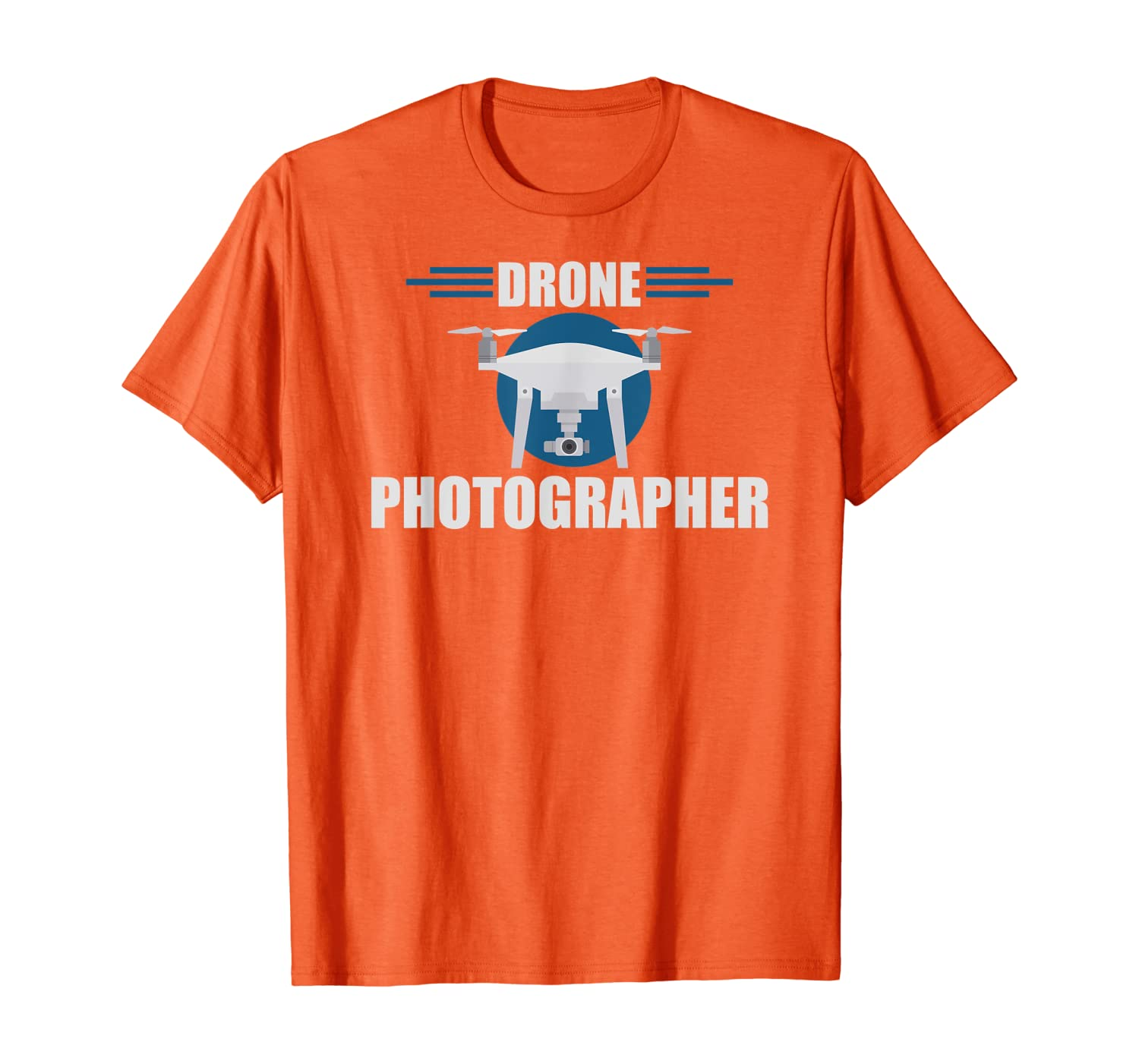 Drone Photographer Flying Pilot Photography T-Shirt