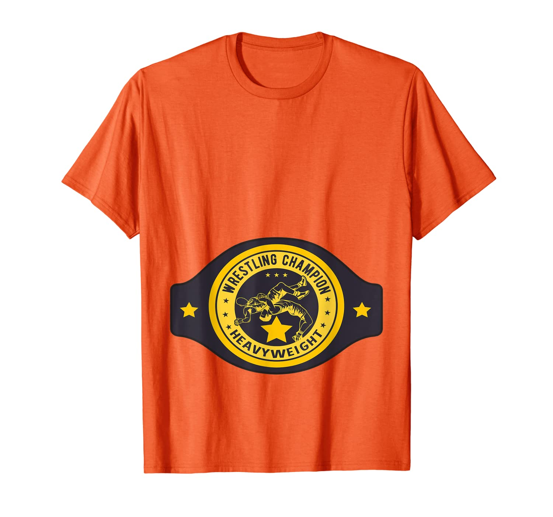Wrestler Heavyweight Champion Halloween Costume T-Shirt