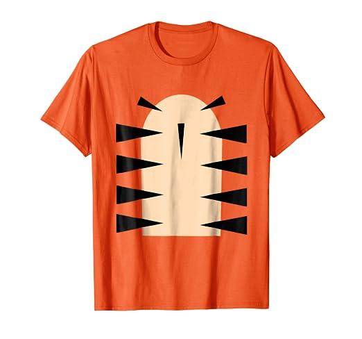 Tiger Costume Shirt Halloween Shirts