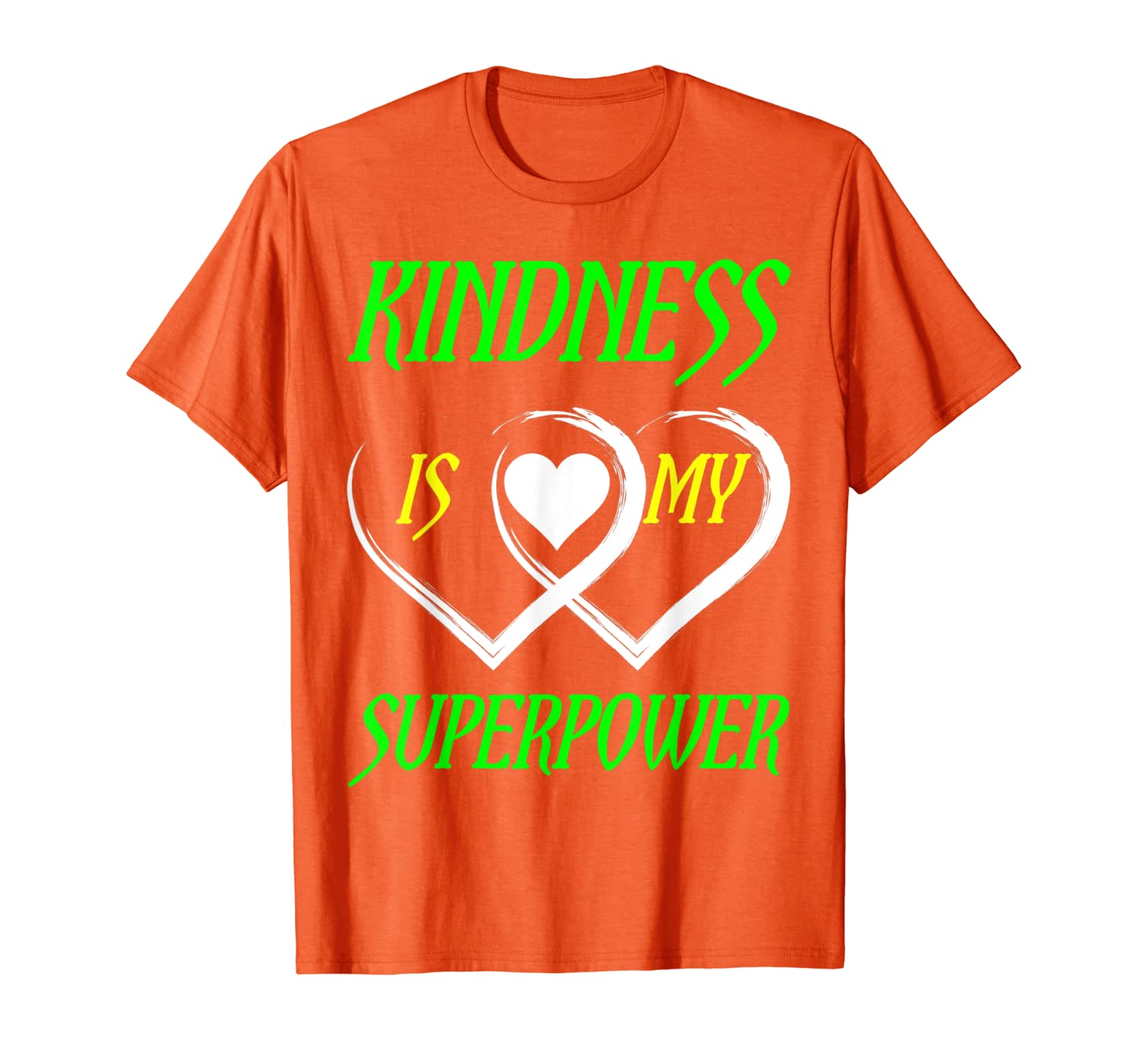 Unity Day Orange T-shirt Kindness Is My Superpower T-shirt